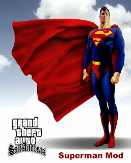 GTA San Andreas Superman Mod PC Games