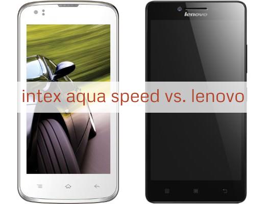 Intex Aqua Speed Vs. Lenovo A6000 - Comparison with Specifications