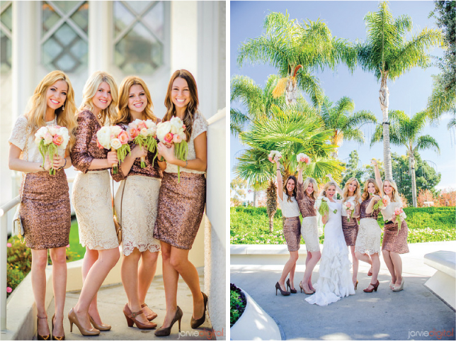 {Wedding Trends} : Bridesmaids in Skirts - how to styled, accessorized and mix-match
