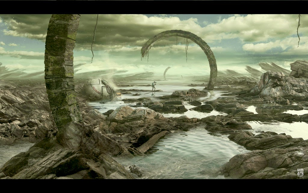 01-River-Styx-Max-Mitenkov-Paintings-of-Surreal-Post-Apocalyptic-Forgotten-Worlds-www-designstack-co