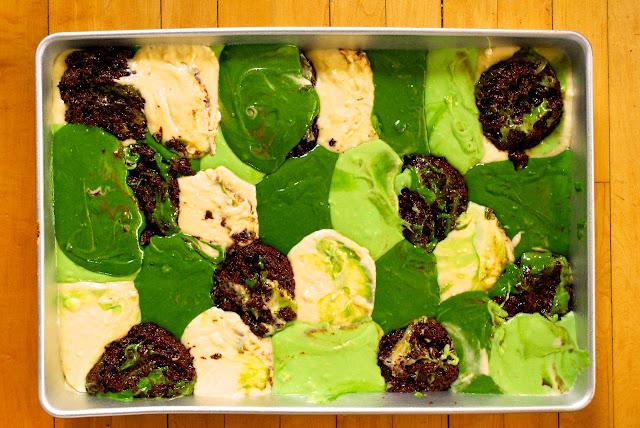 Camouflage Camo cake tutorial