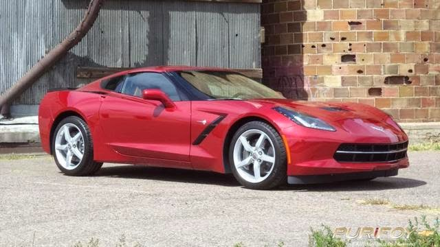 2014 Chevrolet Corvette Stingray Crystal Red Metallic Tintcoat