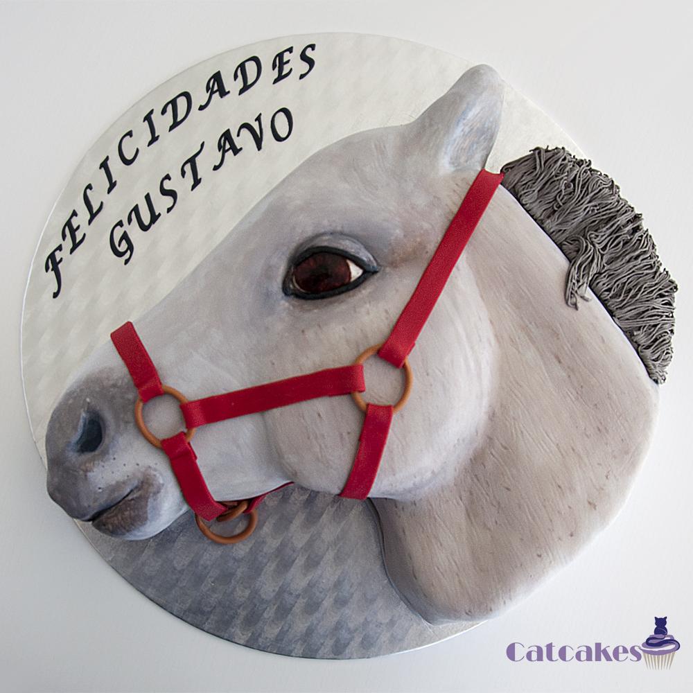 Tutorial tarta cabeza de caballo | Catcakes - Repostería Creativa