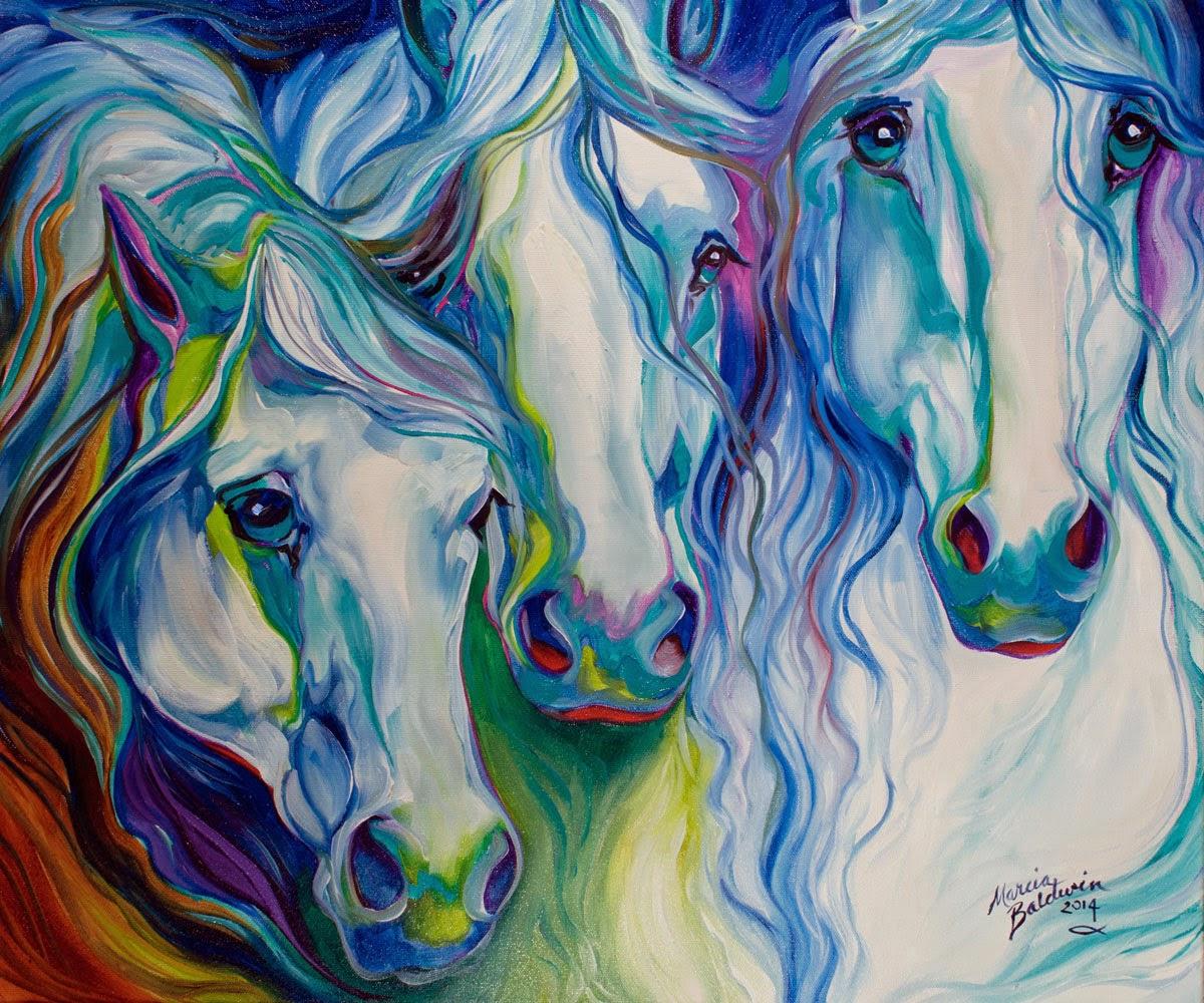 http://www.ebay.com/itm/M-BALDWIN-HORSE-ART-ORIGINAL-PAINTING-THREE-SPIRITS-EQUINE-MARCIA-BALDWIN-/191372023164?