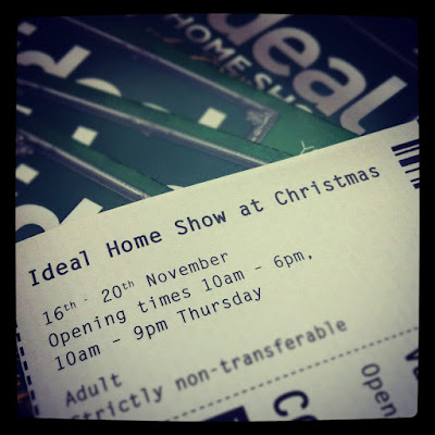 Ideal Home Show at Christmas: Giveaway time!