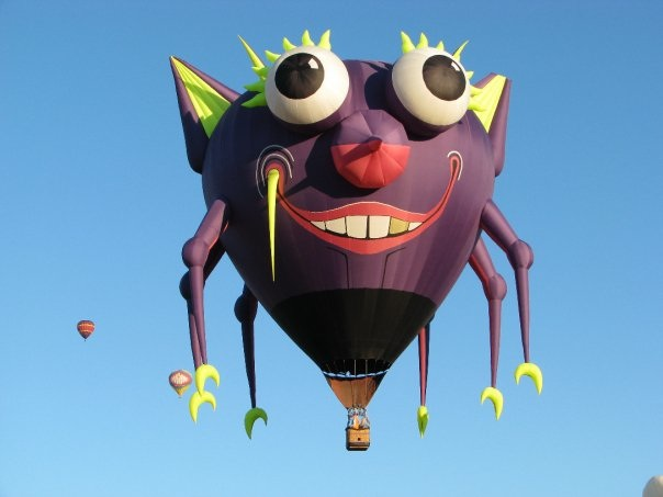Purple People eater is coming to the Adirondack Balloon Festival