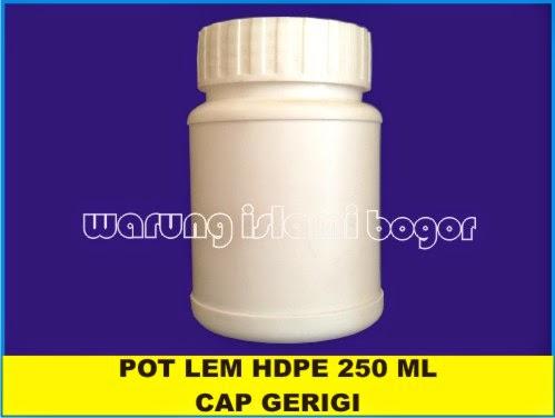 Jual Botol Jar Lurus HDPE 250ml