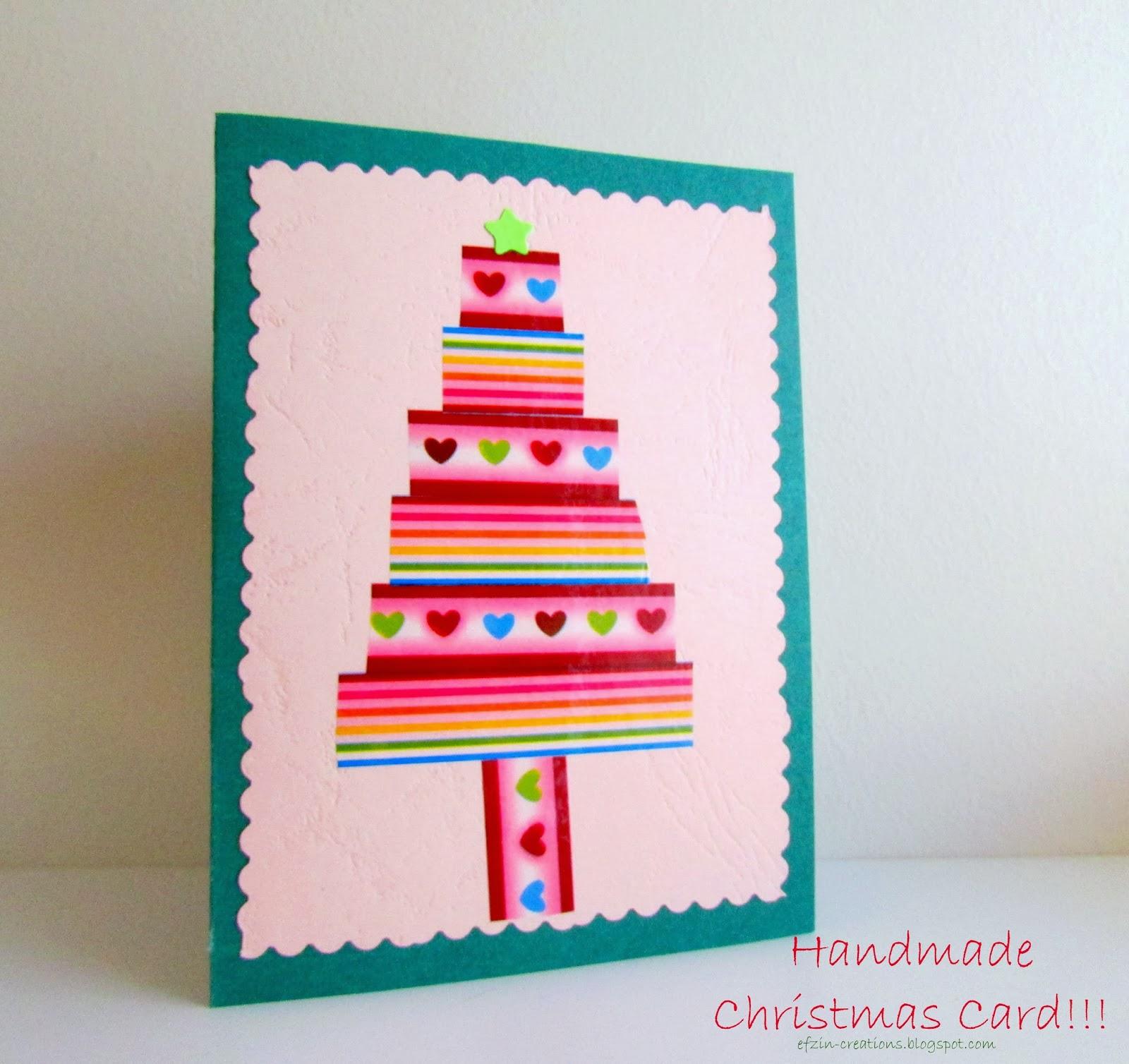 Christmas Wishing Card Ef Zin Creations