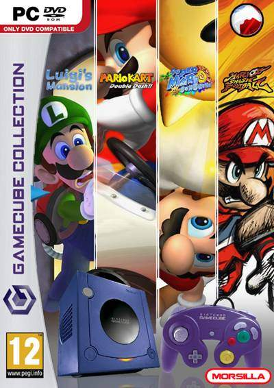 Mario Gamecube Collection PC Full Español ISO DVD5 Descargar