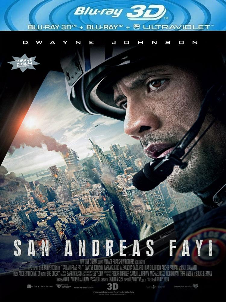 San Andreas Fayı (2015) 3D Film indir