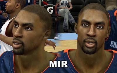 NBA 2K13 Bobcats michael gilchrist Cyberface