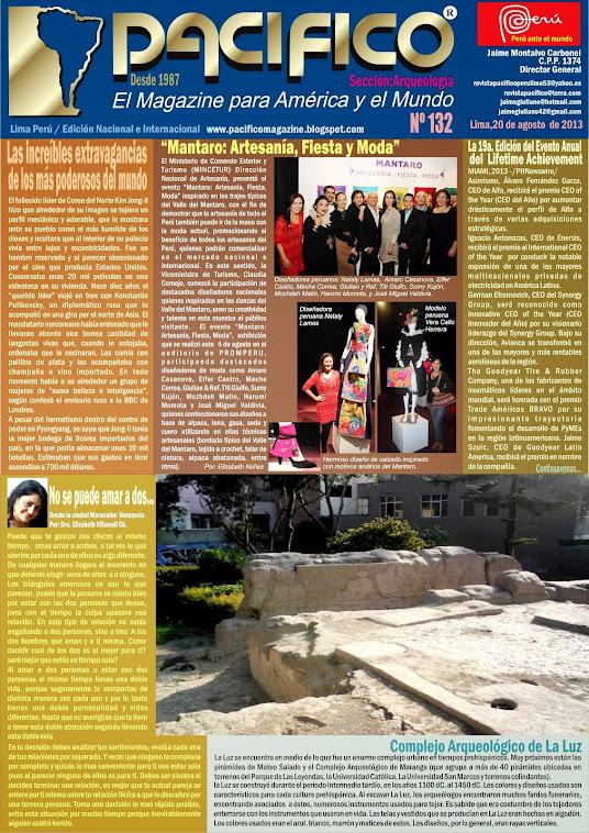 Revista Pacífico Nº 132 Arqueología