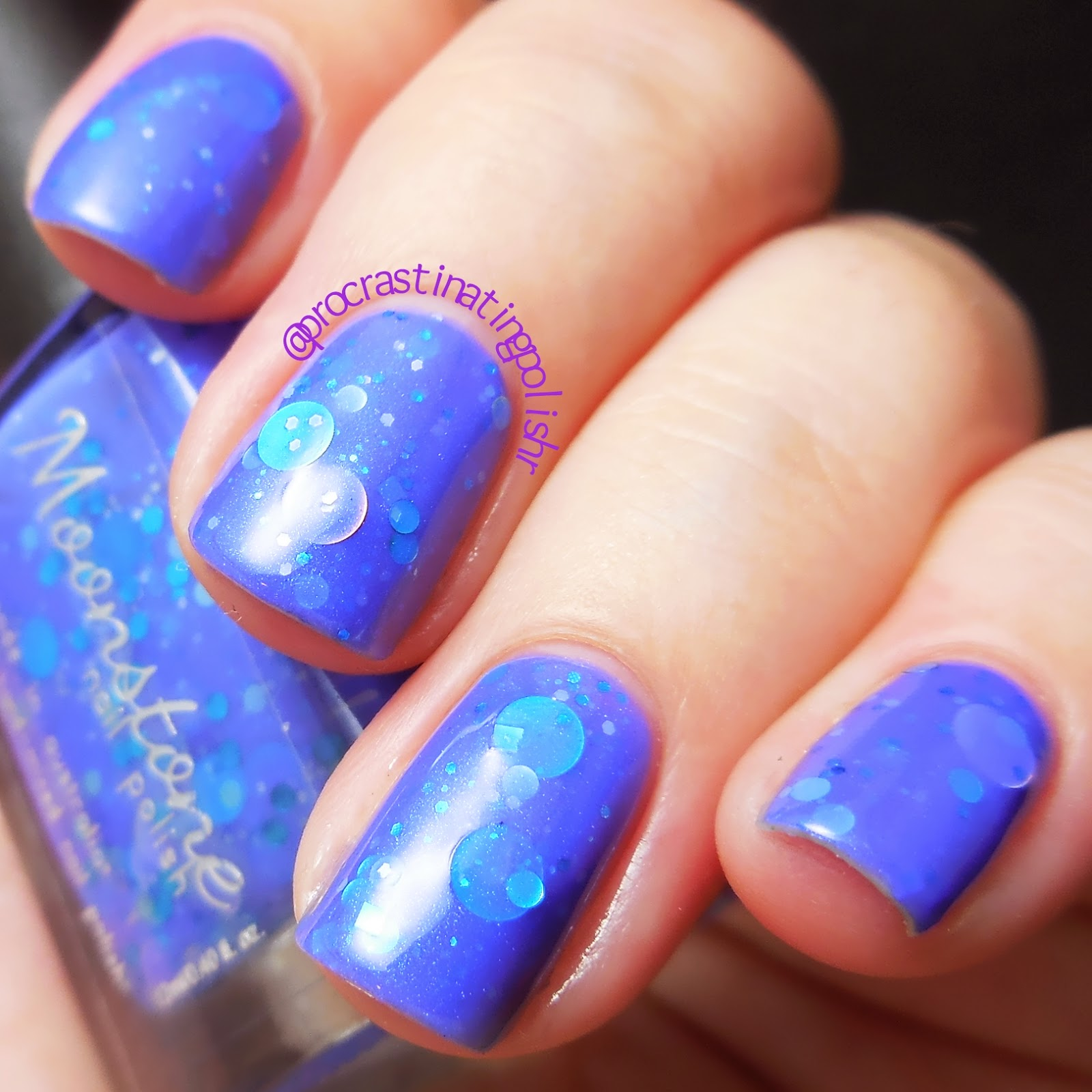 Moonstone Nail Polish - Bluebell Bubblegum
