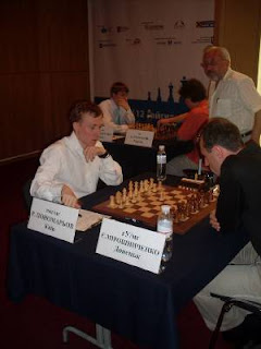Echecs à Kiev : Ponomariov leader à 4.5 sur 6 © photo Chess & Strategy