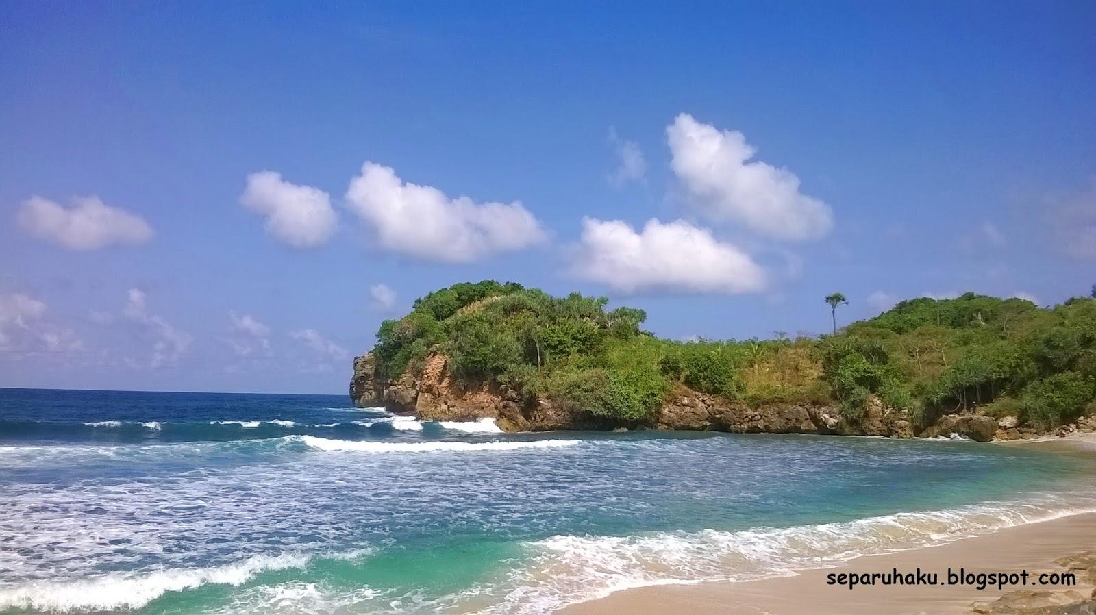 Pantai Peh Pulo Raja Ampat Nya Blitar Jawa Timur Separuh Aku