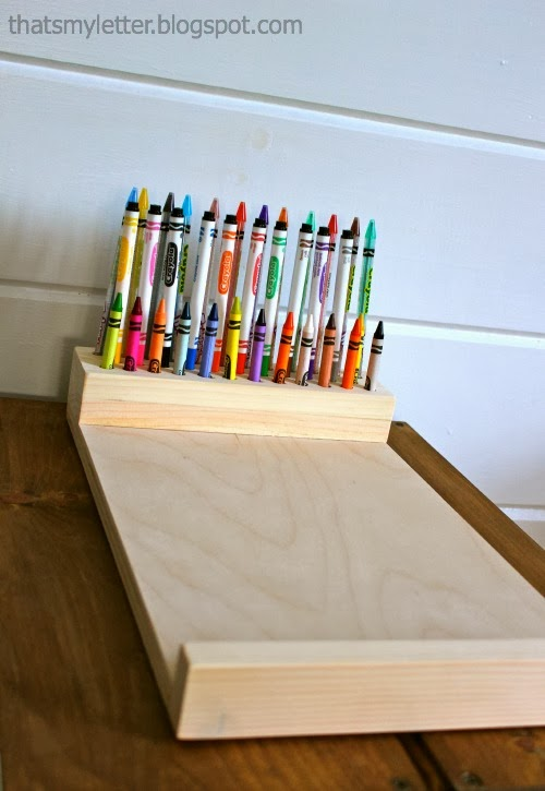 That S My Letter Diy Crayon Holder