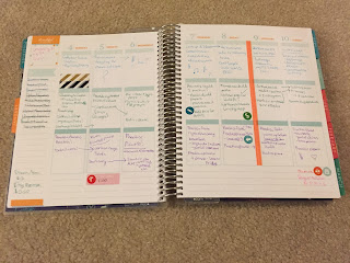 Erin Condren Life Planner | Plan With Me Blog Post