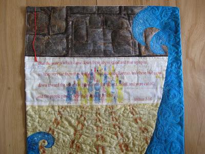 Joshua 3:16, pillowcase finish