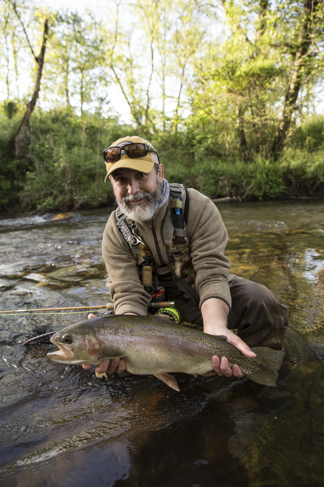 The batten kill beat fly fishing history makers bill oyster for Fly fishing north georgia