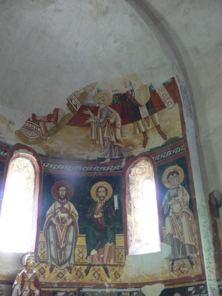 Tribuna berguedana sant pere del burgal pintures del - Tiempo en sant quirze ...