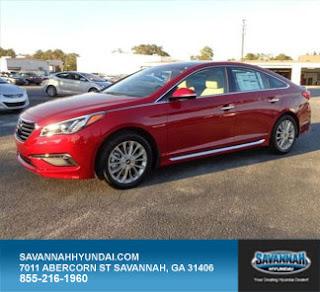 2015 Hyundai Sonata, Savannah Hyundai, Savannah Georgia, New Car Specials, Red Sedan