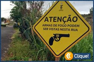 Novas placas de segurança espalhadas pelo Brasil