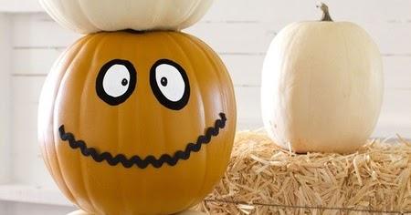 Paint your Pumpkins for Halloween