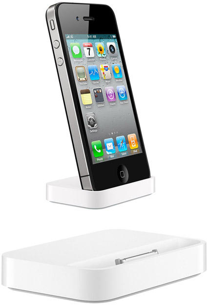 apple goodies iphone 4 dock. Black Bedroom Furniture Sets. Home Design Ideas