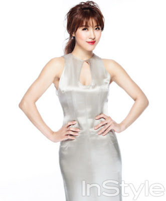 Ha Ji Won - InStyle December 2012
