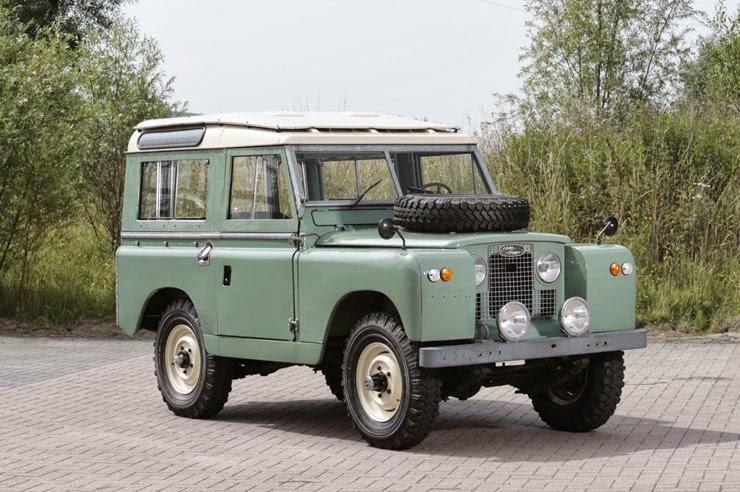 1968 Land Rover Series Iia 4x4 Auto Restorationice