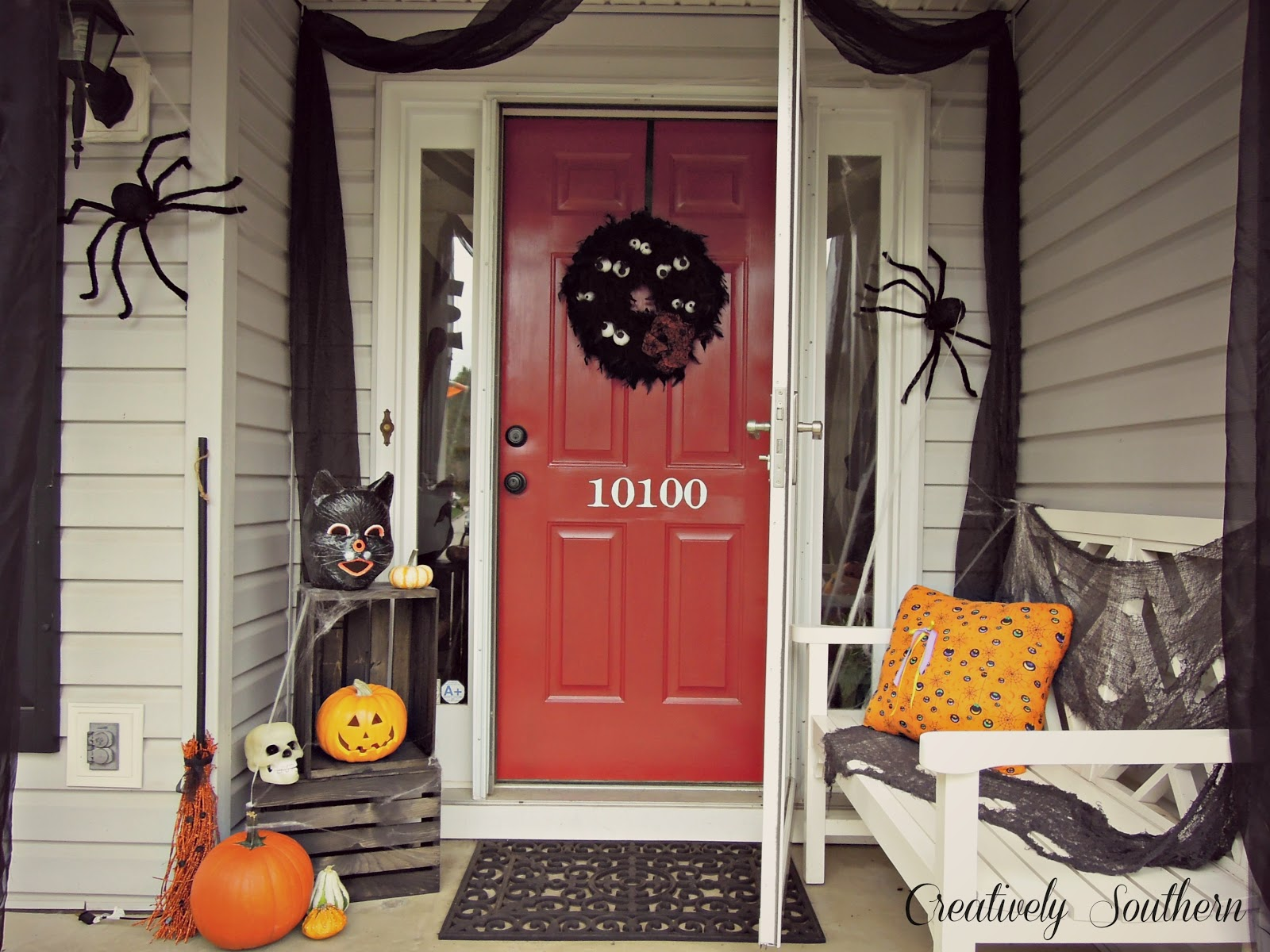 halloween porch decorating halloween porch ideas