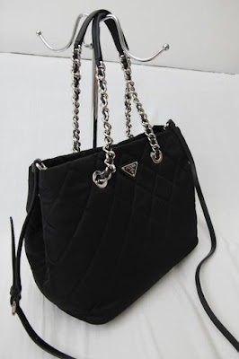 I Want Bags backup  Prada BN2740 Tessuto Impuntu Quilted Bag-Black b35f97ab81d0f