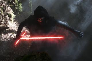 Kylo Ren y su espada láser