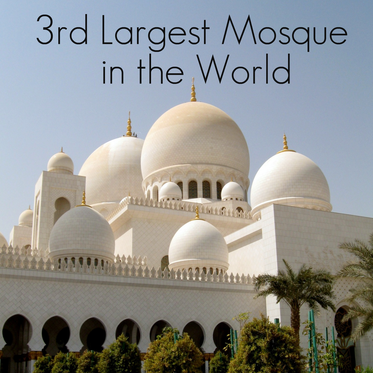 My Suitcase Heart Sheikh Zayed Grand Mosque Crown Jewel