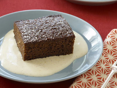Gingerbread With Spiced Creme Anglaise Recipe