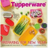 Tupperware Preparing For New Year