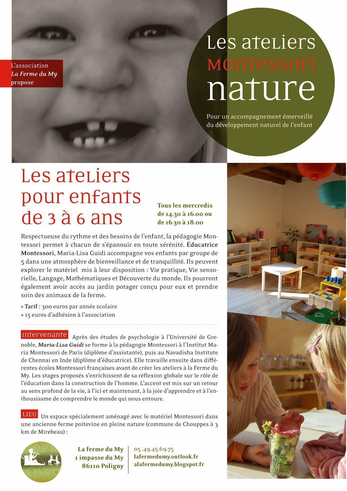 Montessori Nature pour les enfants...
