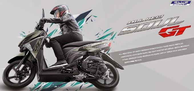 Pilihan Warna All New Soul GT125