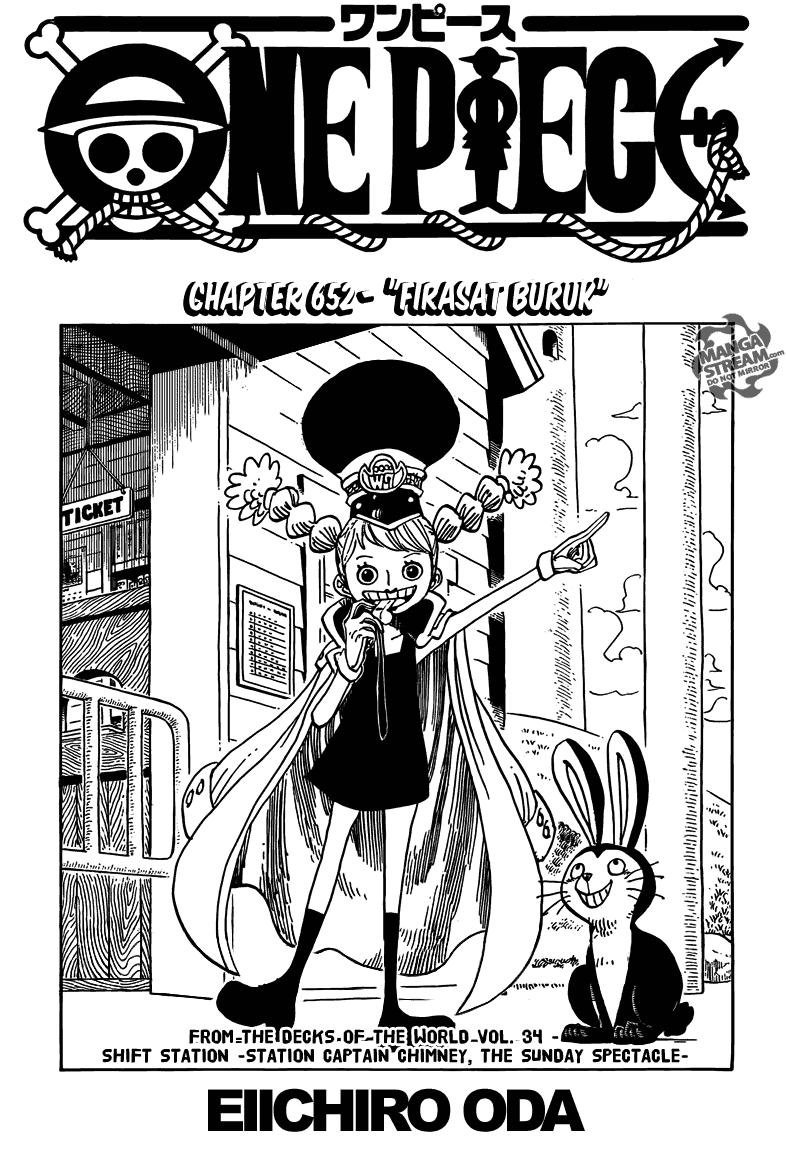 Komik manga Page01 shounen manga one piece