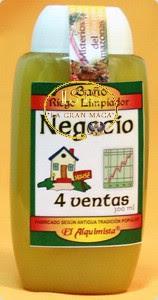 BAÑO DESPOJOS RITUAL 4 VENTAS
