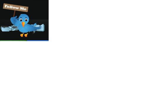 Cara Mudah Memasang Widget Follow Twitter Keren Pada Blog