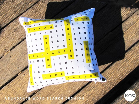 Word Search Pillow