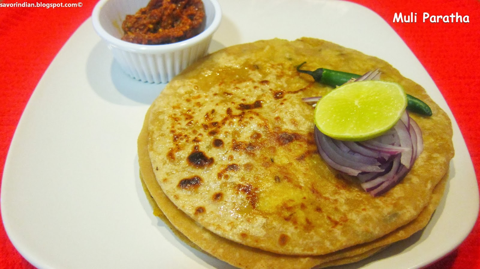 Muli/Mooli Paratha (Radish Paratha) Recipe