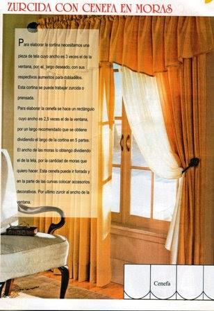 El tiempo entre tus manos modelos de cortinas para - Modelos de cortinas para ventanas ...