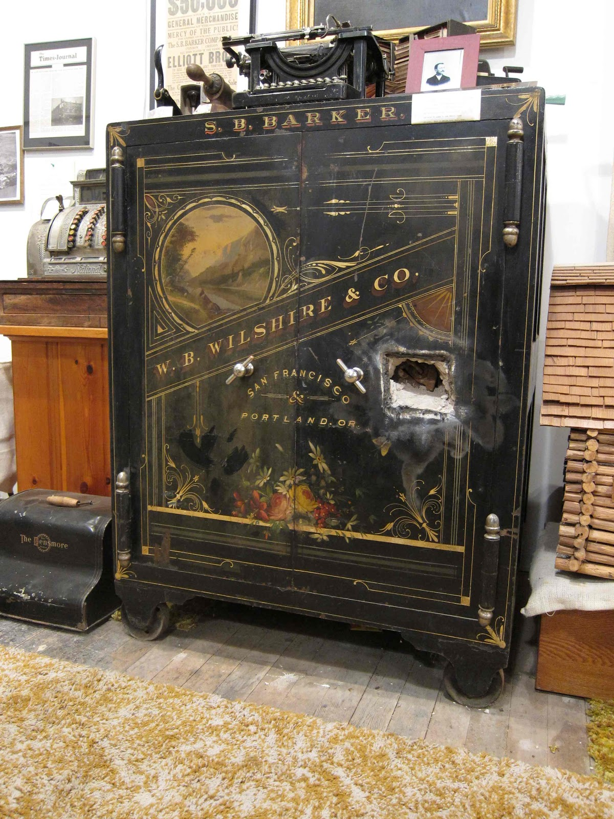 Antique Safes And Vaults