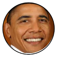Barrack Obama Facebook Smiley