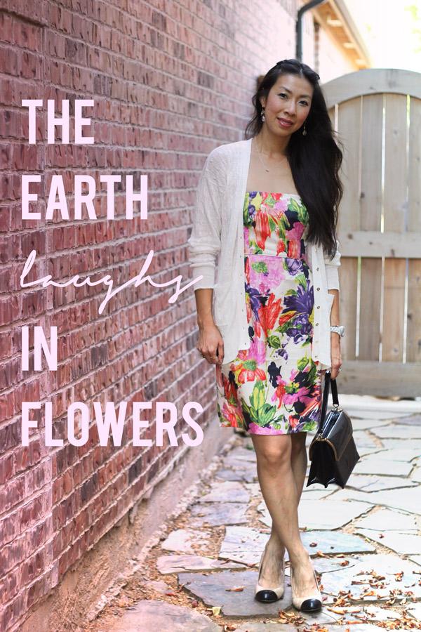 jcrew ella floral dress