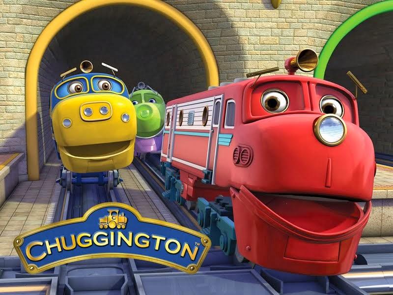 gambar kereta chuggington