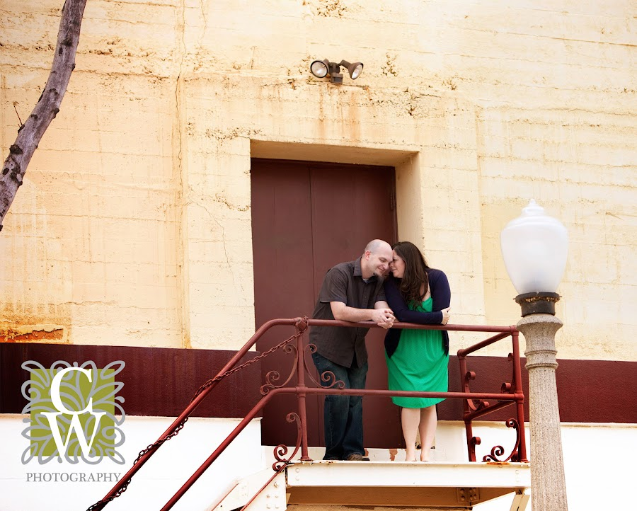 engagement portrait oldtown orange