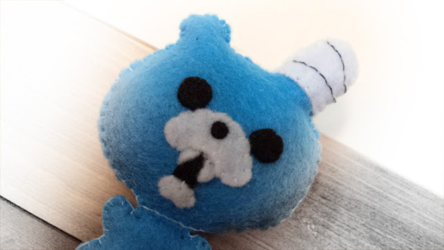 How to Make a Zombbet plushie tutorial